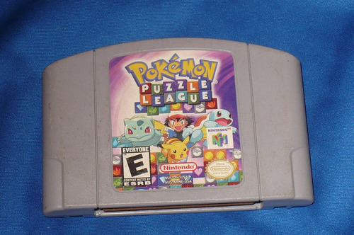 pokemon cartucho nintendo 64 nes-