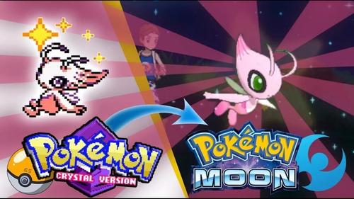 pokémon celebi shiny americano 6ivs sun moon promoção