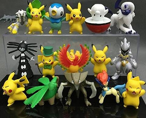 pokemon coleccionables figuras