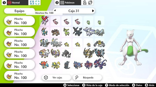 pokemon competitivo ultra shiny - 6iv's all.gen