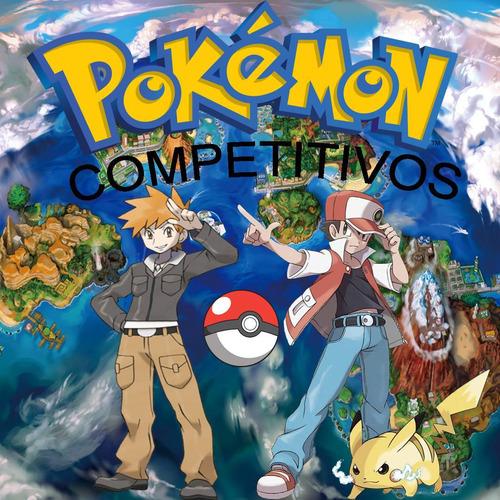 pokemon competitivos 6 y 7 gen shiny a pedido sol luna