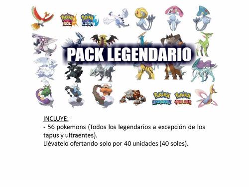 pokemon competitivos 6 y 7 gen shiny a pedido ultra sol/luna