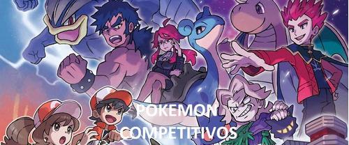 pokemon competitivos 6ivs todas las gen ultrasol y ultraluna