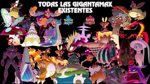 pokémon competitivos gigantamax 6 ivs espada/escudo