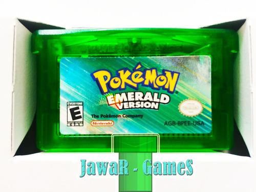 pokemon emerald + 386 pokemon shinys - nintendo gba & nds