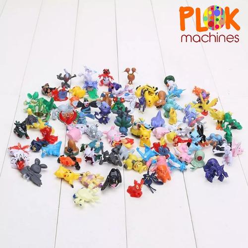 pokemon encapsulado - 50 cápsulas, vending machines