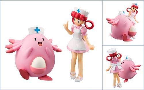 pokemon - enfermera joy - chansey - g.e.m. megahouse