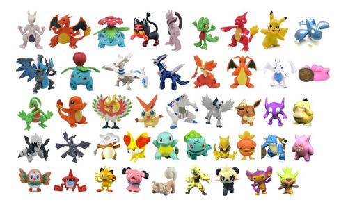 pokemon figura individual 5-10 cm