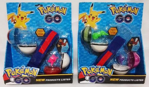 pokemon go cinturon con 2 pokebolas y muñecos ultimas