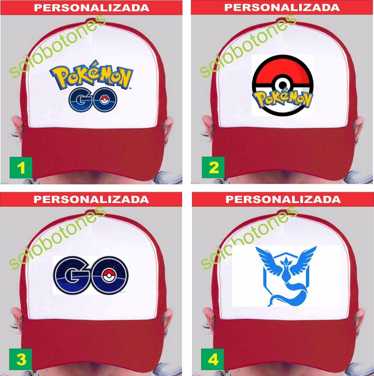 pokemon go gorras estampadas souvenir 20 unidades. Cargando zoom. b7889b2fe7a