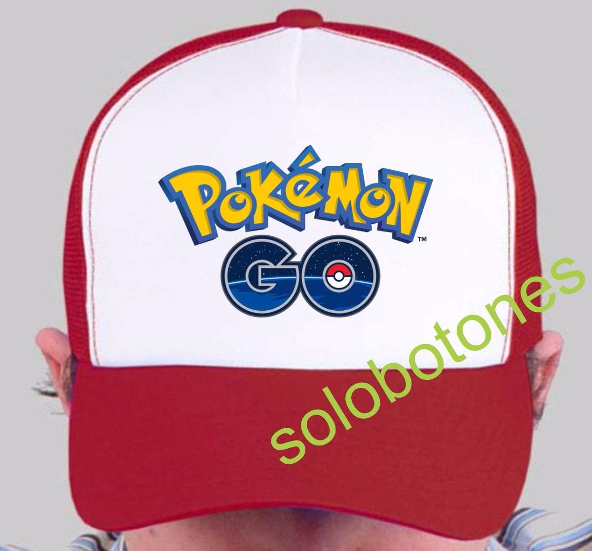 Pokemon Go Gorras Estampadas Souvenir 20 Unidades -   2.800 19e96fe358d99