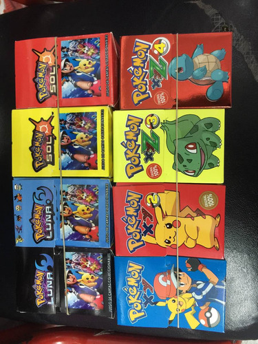 pokémon go pack x 8 colección completísima!!!!