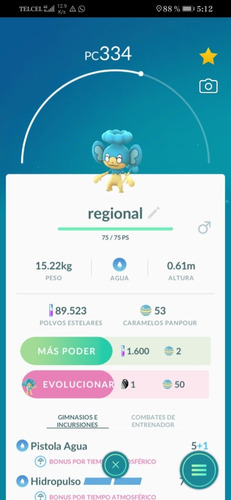 pokemon go regionales
