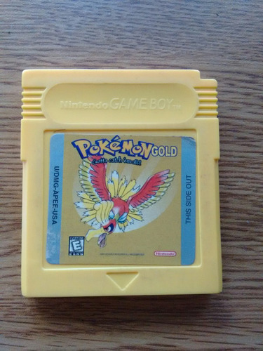 pokemon gold edition juego para game boy color nintendo