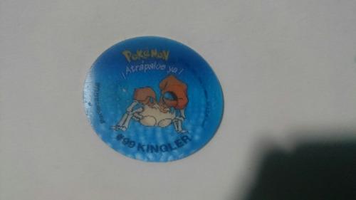 pokemon krabby #98 #99 coleccion tazos 2 vendo o cambio