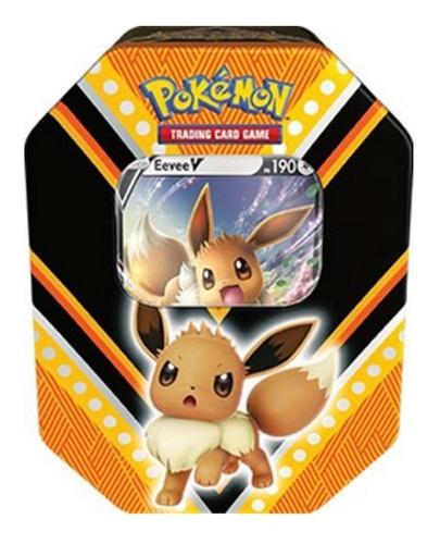pokémon lata poderes v - pikachu v / eevee v / eternatus v