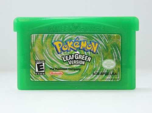 pokemon leafgreen - gba