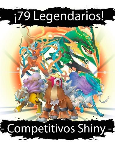pokemon legendarios shiny ultra sol,luna, x y, or, as, 6ivs