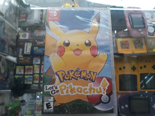 pokemon lest go pikachu para nintendo switch