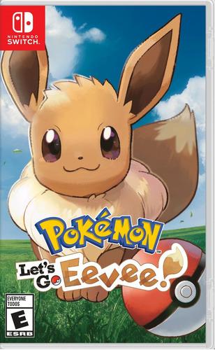 pokemon let's go eevee nintendo switch nuevo fisico