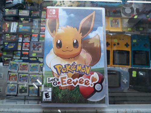 pokemon lets go eevee para nintendo switch