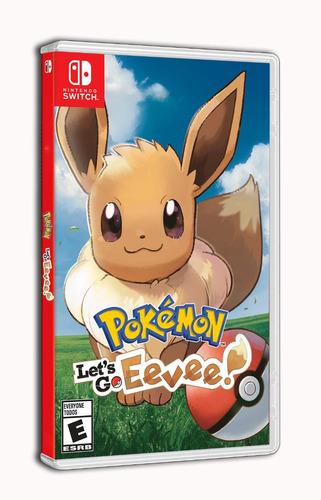 pokemon lets go pikachu ! nintendo switch nuevo / sellado