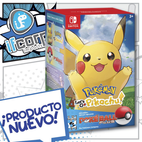 pokemon lets go pikachu pokeball plus bundle nintendo switch