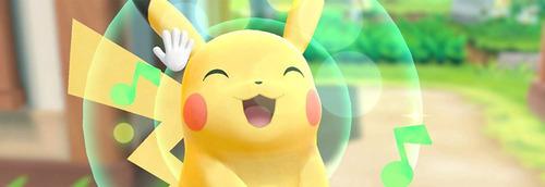 pokémon lets go pikachu + pokeball plus nintendo switch