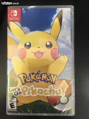 pokèmon lets go pikachu swicth