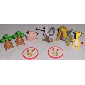 Pokemon Lote Com 6 Bonsly Clefairy Mewtwo Giratina Ampharos