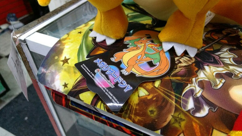 pokémon mega charizard  y  y  x  de 25cm envío gratis dhl