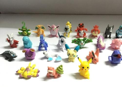 pokemon mini boneco miniatura go pikachu pronta entrega!