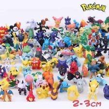 pokemon mini figuras 72 unidades . coleccionable!