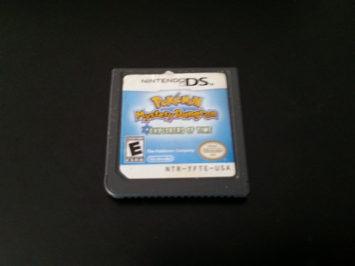 pokémon mistery dungeon explorers of time cart