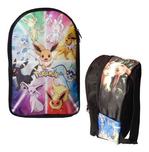 pokemon mochila backpack eevee evoluciones flareon umbreon