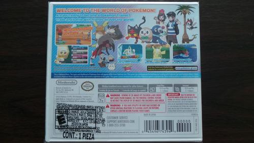 pokemon moon 3ds nuevo sellado