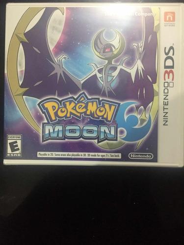 pokemon moon 3ds , original , nuevo y sell , envío gratis !!