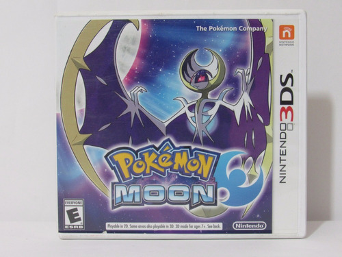 pokemon moon 3ds ¡usado! en tecno-gaming
