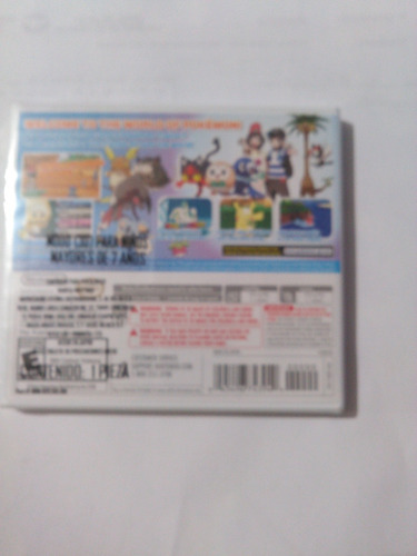 pokemon moon - nintendo 3ds nuevo y sellado