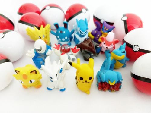 pokemon na pokebola 25 unid kit festa e lembrancinha