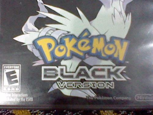 pokemon negro nintendo