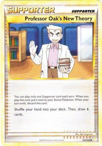 pokemon - nueva teoría del profesor oak (101/123) - heartgo