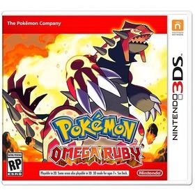Pokemon Omega Ruby 3ds - Semi Novo! M.fisica!