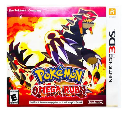 pokemon omega ruby + 719 pokemon - nintendo 2ds & 3ds