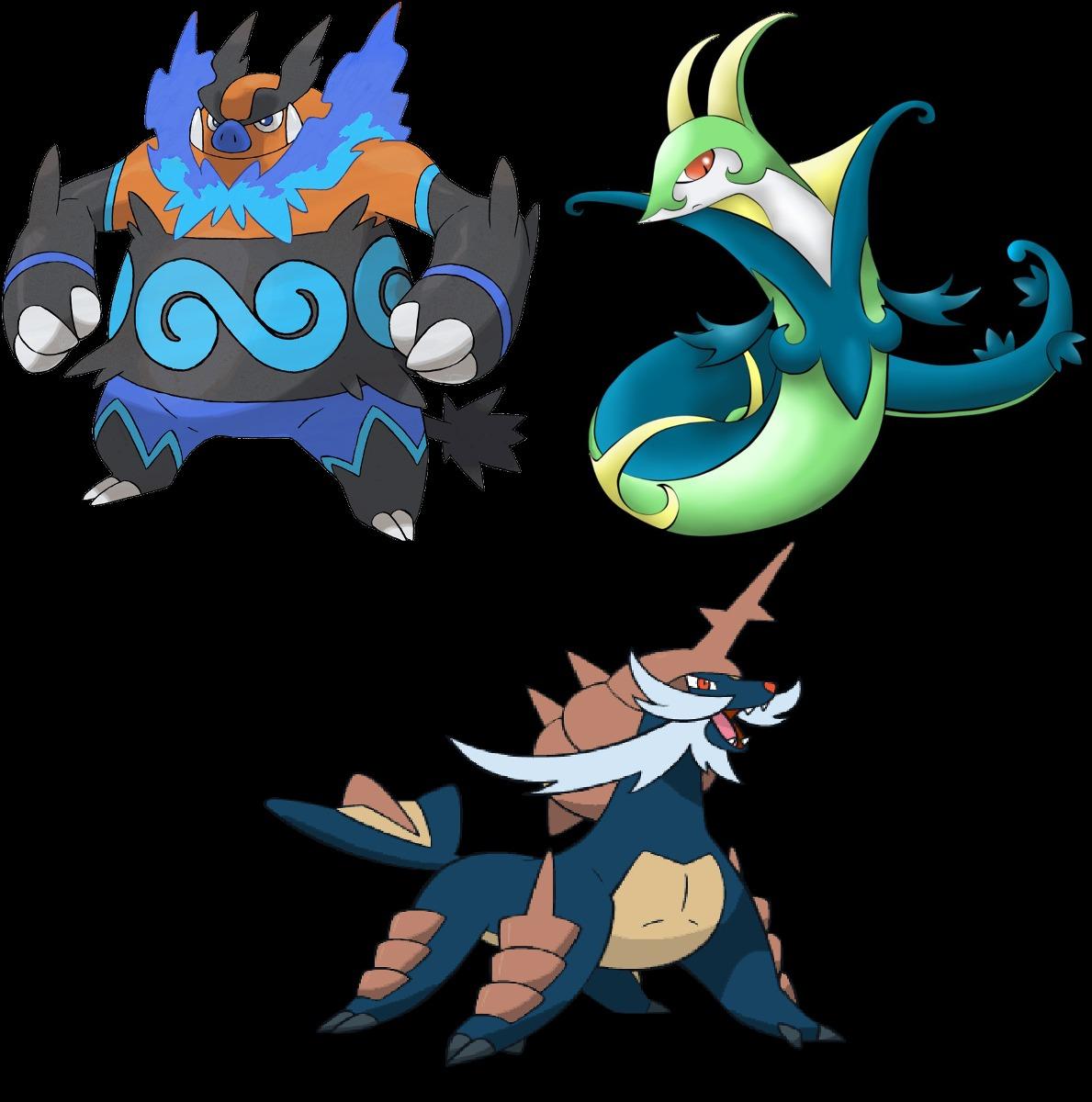 Pokemon Shiny Serperior Images | Pokemon Images