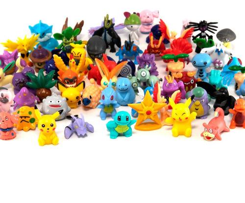 pokémon paquete figuras coleccionables 48 piezas con pikachu