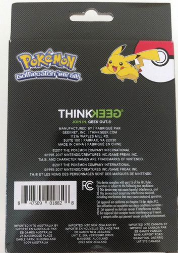 pokémon pikachu carregador portátil