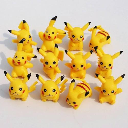 pokemon pikachu colecciones completas 6 modelos alta calidad