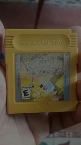 pokemon pikachu para game boy color .