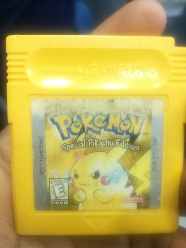 pokémon pikachu para game boy color